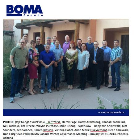 BOMA Canada Board of Directors