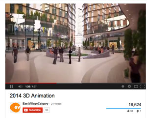 East Village 3D Calgary