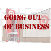 Target Out of Business