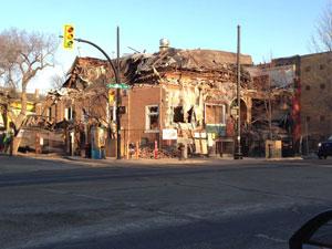 Farnam Block Demolition