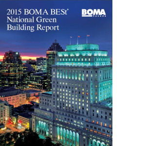 BOMA BESt National Green Building Report 2015