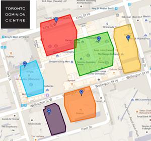 TD Center Map
