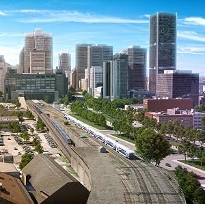 Montreal LRT / subway train system