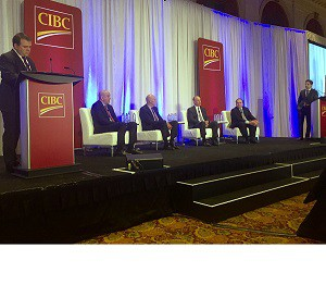 CIBC Office Real Estate Forum panelists