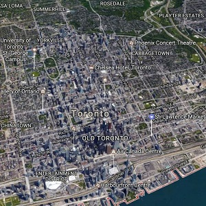 Downtown Toronto. (Google Maps)