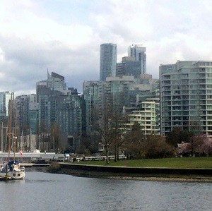 Downtown Vancouver - where there is no stigma attached to being a renter.