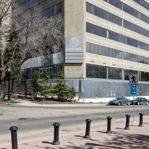 The Ledgeview Business Centre in Edmonton.