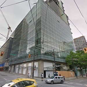 555 Robson St. in Vancouver.