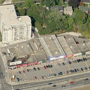 The Sunnybrook Plaza in Toronto.