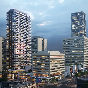 The Yonge Sheppard Centre in Toronto, which was re-envisioned by Quadrangle Architects.