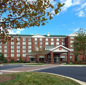 The Hilton Garden Inn Baltimore White Marsh is one of the properties acquired by AHIP REIT.