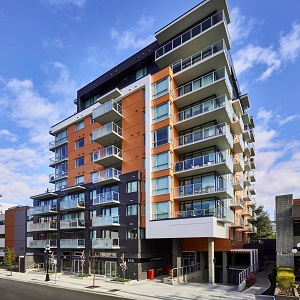 Chard Development recently completed the Escher condominium residence in Victoria, B.C.