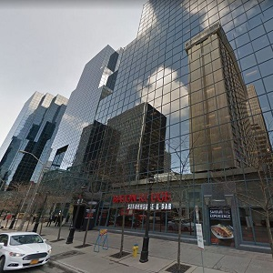 Constitution Square on Albert St. in downtown Ottawa is on the sale block. Canada could see a record year for commercial real estate sales, an Avison Young report says. (Google Street View)
