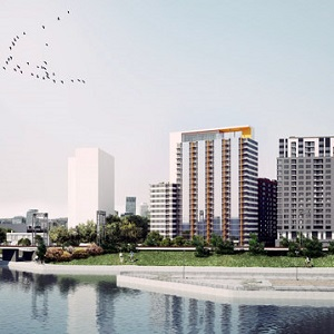 L'Hexagone 2 is now under construction in Montreal's Griffintown neighbourhood.