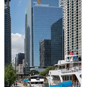 Menkes Developments' One York Street / Sun Life Financial Tower in Toronto.
