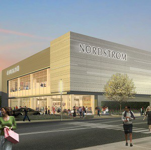 Nordstrom is one of the anchor retailers at the redeveloped CF Sherway Gardens in Toronto.