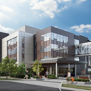 Cambridge Manor is a seniors residence which will be part of the massive, mixed-use University District development on property owned by the University of Calgary.