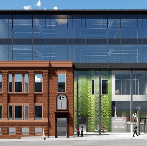 Voisin Capital will redevelop the 48 Ontario St. N., site in Kitchener.