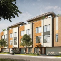 Fresh Towns, a West Ottawa development by Greatwise Properties, will include units with rooftop terraces. It's a concept that's fairly new to the National Capital Region. (Image courtesy Greatwise Properties)