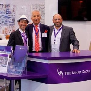 Avi Behar, Yosi Behar and Greg Evans of The Behar Group (TBG) in Toronto. (Image courtesy The Behar Group)