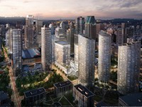 The Tour des Canadiens condo towers are part of the Quad Windsor development in downtown Montreal.