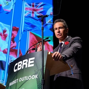 Paul Morassutti of CBRE.