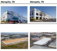 Two industrial properties in Memphis, Tenn., which are part of a portfolio of four properties purchased by Dream Industrial REIT.
