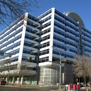 The John E. Brownlee Building in Edmonton earned the TOBY for best government building at BOMEX 2017 in Toronto.