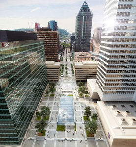 A $200-million renovation at Place Ville Marie is part of an investment of about $1 billion by Ivanhoe Cambridge in its downtown Montreal flagship properties.