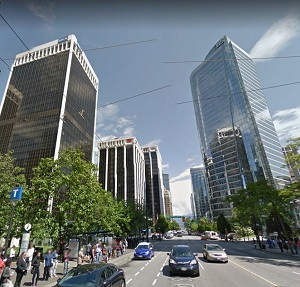 Downtown Vancouver. (Google Maps image)