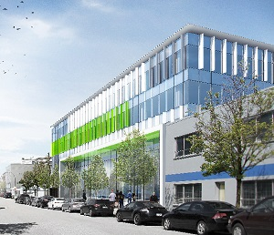 Video game maker Relic Entertainment will be the anchor tenant for this new PC Urban light industrial and office building in Vancouver's Mount Pleasant neighbourhood.