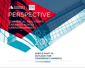 The Cushman and Wakefield Q3 cap rates report. All indicators are that momentum will carry through into 2018 and create another strong year for CRE investment.
