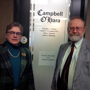 Lawyers Louise Campbell and Timothy O'Hara took advantage of Calgary's downtown office glut to move their firm into the core.