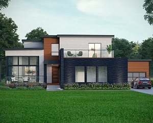 A model home at Fourteen Estates' Eden Park development in Newtonville, Ont.