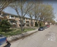 A series of low-rise, walkup apartment buildings along Retallack St., in Regina are part of a 641-apartment portfolio sold to Mainstreet by Boardwalk.