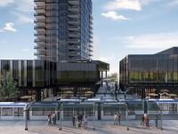 An artist's rendering of the Edmonton West Block development.