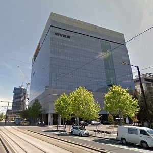 Manulife has purchased its first Australian commercial real estate property, this office/retail tower at 800 Collins St., in Melbourne.