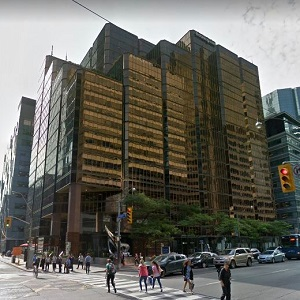 This 14-storey 70 University Ave., office building on University and Wellington St. W. in Toronto is one of the assets seeded into LaSalle's new Canada Property Fund.