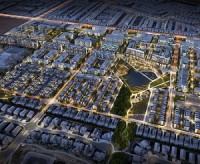 The West District in Calgary is a marter-planned community being constructed by Truman Development Corp.