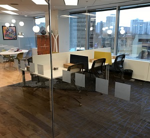 Coworking giant Regus is the latest to open a shared work space in Hamilton, in a downtown high-rise at 21 King St. West.