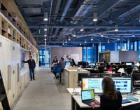The architectural firm Perkins+Will is using data to design more efficient and employee-friendly office work spaces.