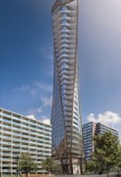 This condo tower at 64 Prince Arthur AVe. in Toronto is one of two proposed developments by Adi Developments, which is expanding from its base in Burlington into the GTA's urban core.