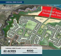 Cardinal Creek Village and the Cardinal Creek Centre in the east Ottawa community of Orleans. (Rendering courtesy Taggart)