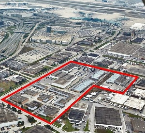 The American Business Park, adjacent to Toronto's Pearson International Airport, has been sold to KingSett Capital.