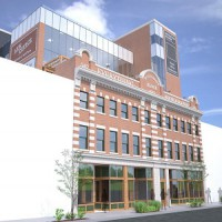 A rendering of the Brighton Block in Edmonton, which is being redeveloped by Sparrow Capital.