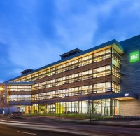 The Mountain Equipment Co Op headquarters in Vancouver was purchased by Crestpoint Real Estate Investments in partnership with PSP Investments.
