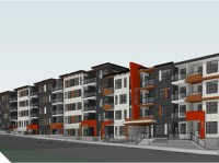 ICM Group, PK Developments and Providence Group are partners on this 135-unit apartment complex in Marda Loop in Calgary.