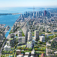 A vision for East Harbour in Toronto courtesy of First Gulf