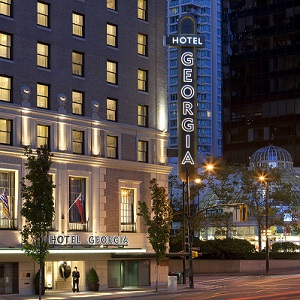 Vancouver's Rosewood Hotel Georgia sold for $145 million last year.