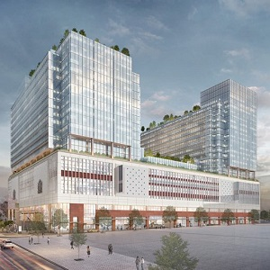 The Post will bring 1.6 million square feet of office space into the Vancouver market, much of it already committed to Amazon.
